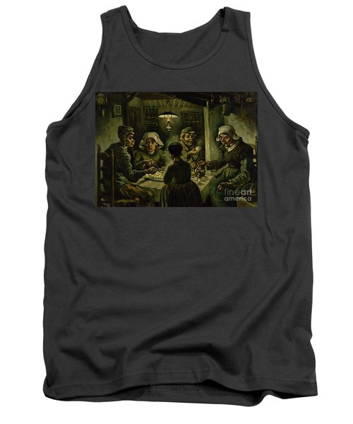 The Potato Eaters, 1885 Tank Top by Vincent Van Gogh