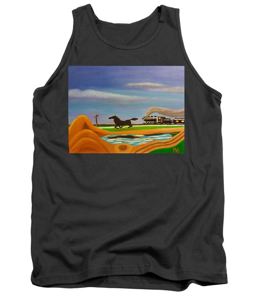 The Race Tank Top by Margaret Harmon