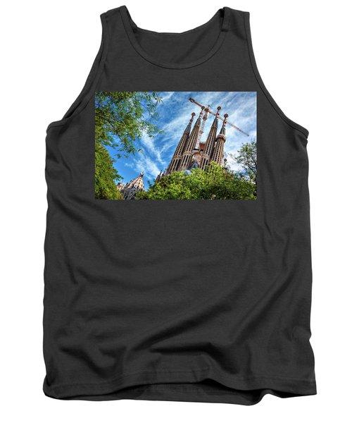 The Sagrada Familia Tank Top