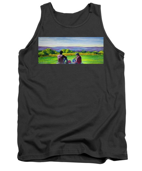 The View Tank Top by Ron Richard Baviello
