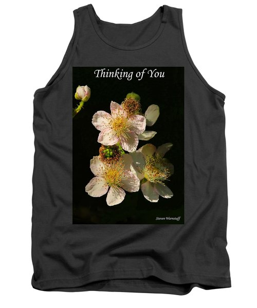 Thinking Of You Tank Top by Steve Warnstaff