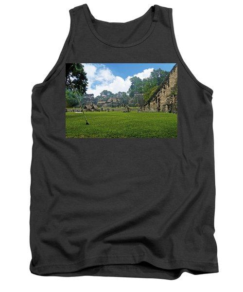 Tikal, Guatemala Tank Top by Marius Sipa