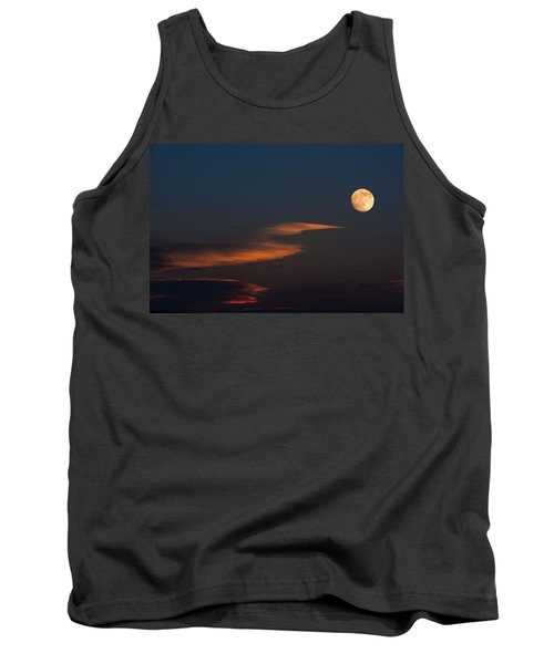 To The Moon Tank Top by Don Spenner