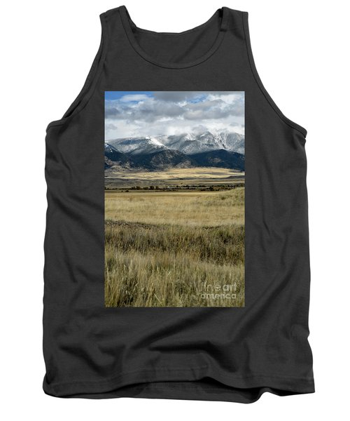 Tobacco Root Mountains Tank Top by Cindy Murphy - NightVisions