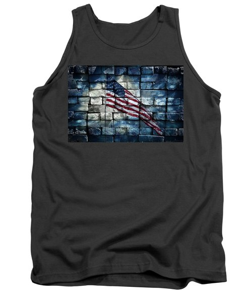 Tank Top featuring the photograph Together We Stand by Aaron Berg