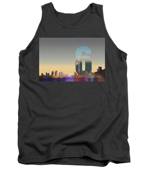 Toronto Skyline - The Six Tank Top