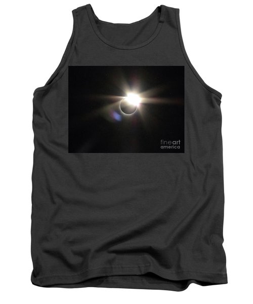 Total Eclipse 2017 Lens Flare Tank Top