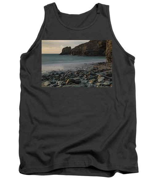 Tank Top featuring the photograph Trevellas Cove by Brian Roscorla