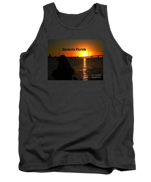 Tank Top featuring the photograph Tropical Sunset by Gary Wonning