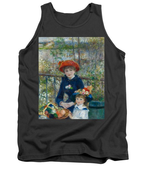 Two Sisters On The Terrace Tank Top