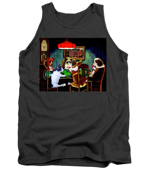 Under The Table Tank Top by Ron Chambers