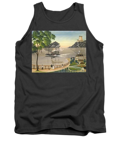 U S Mail Boat Tank Top