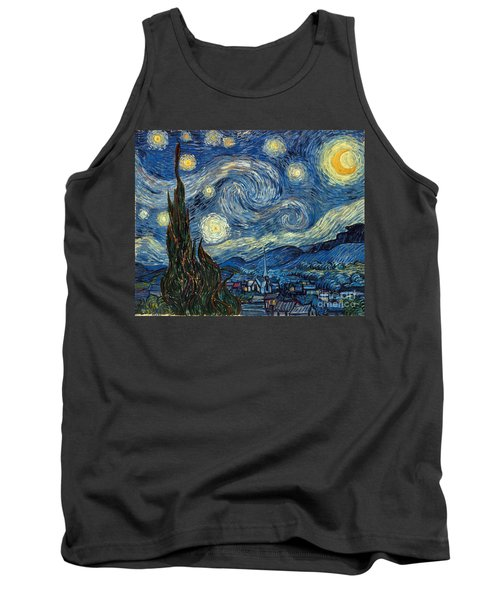 Van Gogh Starry Night Tank Top