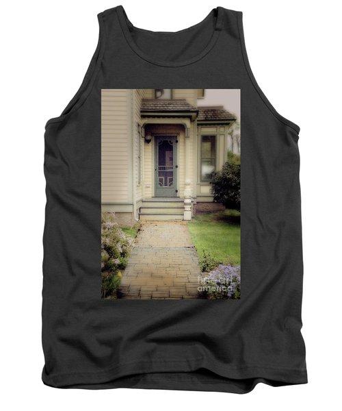 Tank Top featuring the photograph Victorian Porch by Jill Battaglia