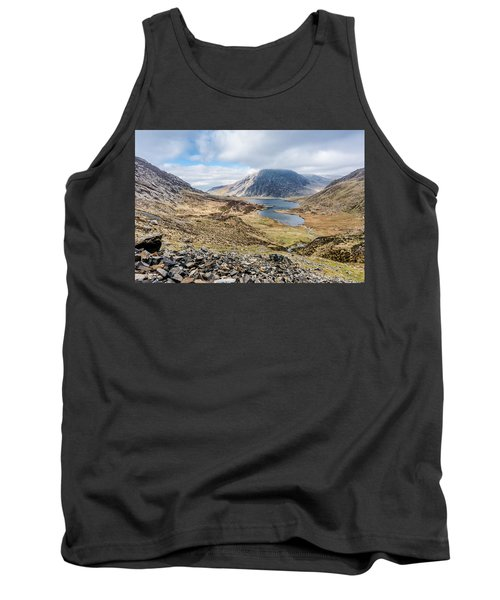 Tank Top featuring the photograph View From Glyder Fawr by Nick Bywater