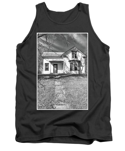 Visiting The Old Homestead Tank Top by Guy Whiteley