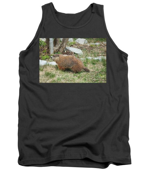 Tank Top featuring the photograph Visitor  by Vicky Tarcau