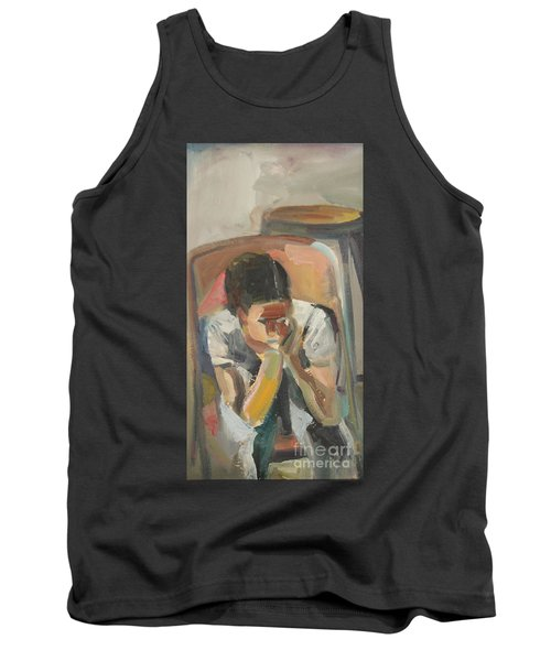 Wait Child Tank Top by Daun Soden-Greene