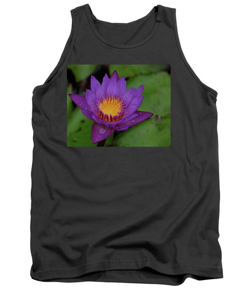 Water Lily Tank Top by Ronda Ryan