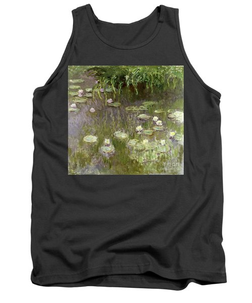 Waterlilies At Midday Tank Top
