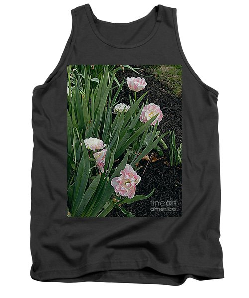 Tank Top featuring the photograph We're Over Here by Nancy Kane Chapman