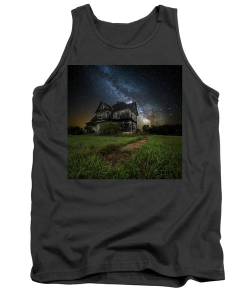 Tank Top featuring the photograph What Once Was by Aaron J Groen