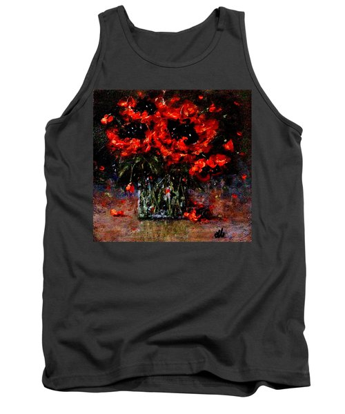 Whispers Of Love  Tank Top by Cristina Mihailescu