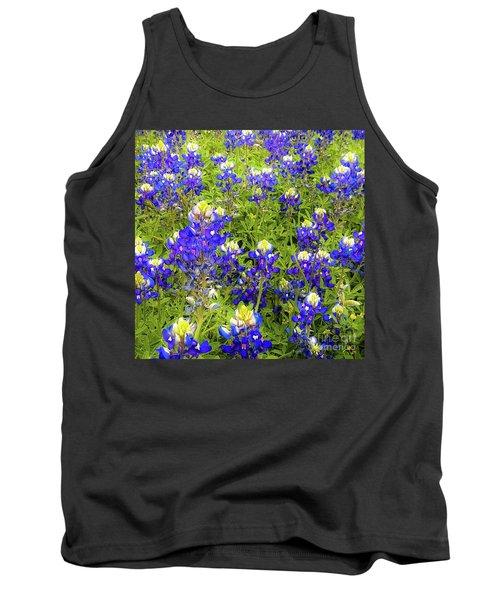 Wild Bluebonnets Blooming Tank Top