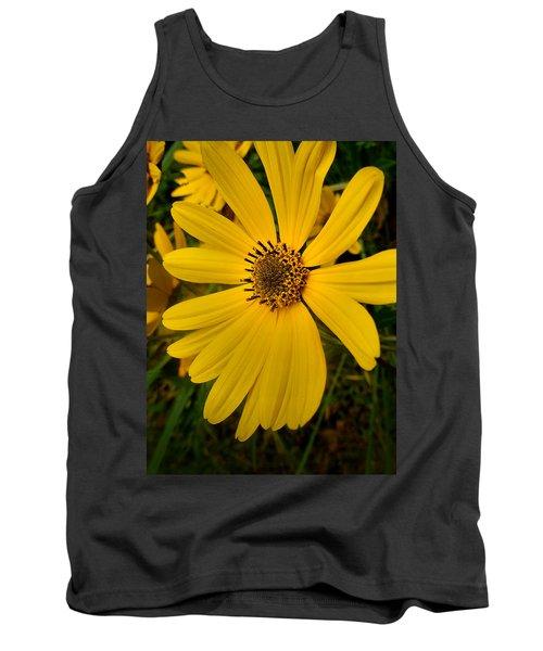 Wild Yellow Tank Top