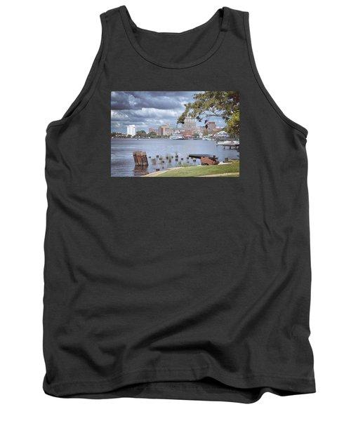 Wilmington Riverfront Tank Top by Phil Mancuso