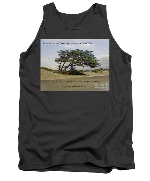 Tank Top featuring the photograph Windy Lean by Gena Weiser