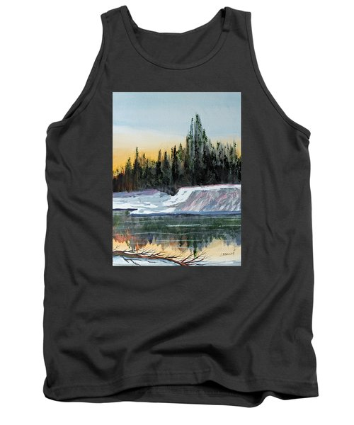 Winter Reflections Tank Top by Jack G  Brauer