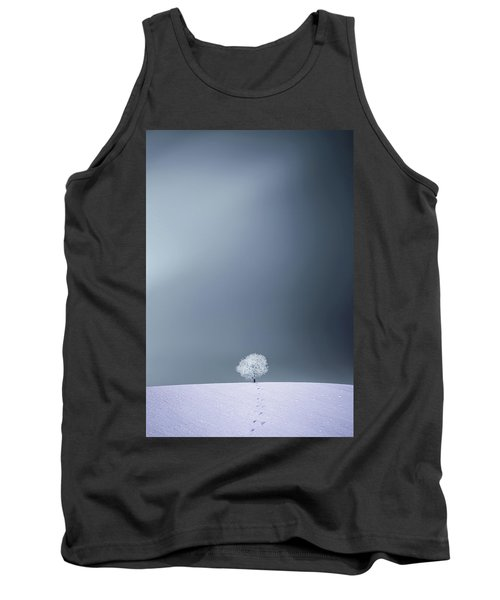 Tank Top featuring the photograph Winter Tree by Bess Hamiti