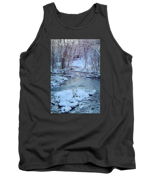 Tank Top featuring the photograph Winter Wonderland by Dacia Doroff