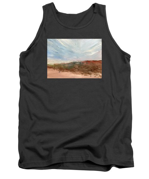 Tank Top featuring the painting Witness by Trilby Cole