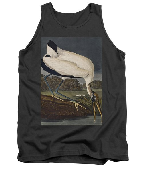 Wood Ibis Tank Top by John James Audubon