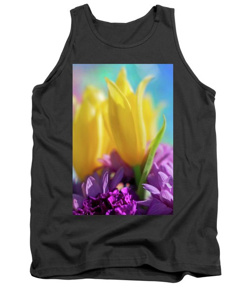Yellow Lily Tank Top