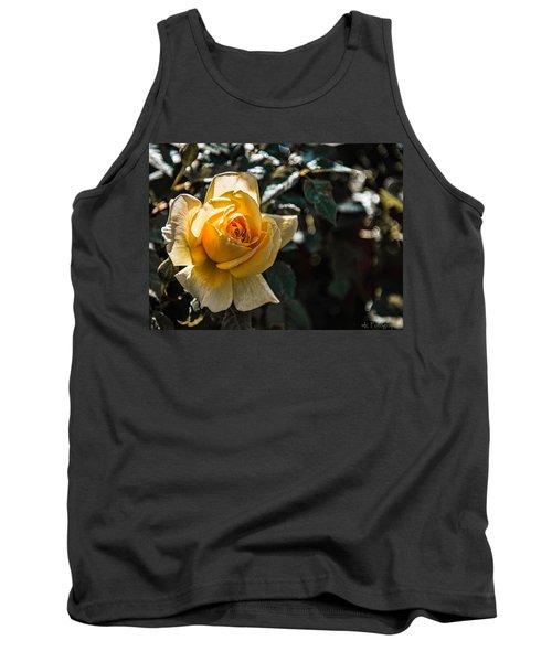 Yellow Rose Tank Top
