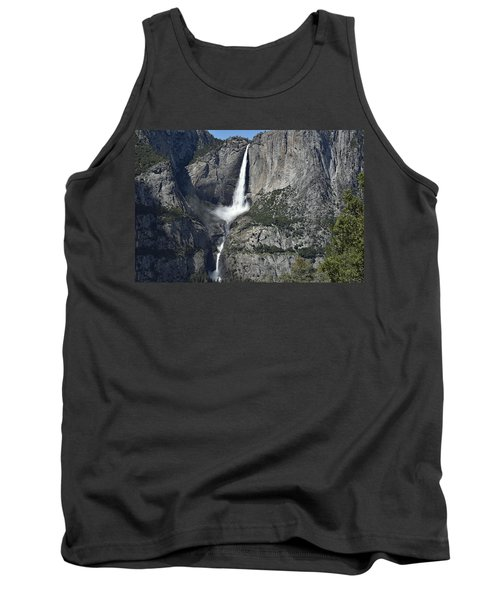 Yosemite Falls From The Four Mile Trail Tank Top