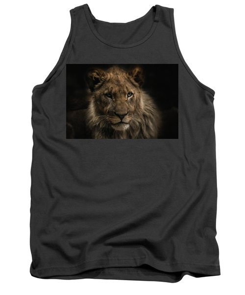 Young Lion Tank Top