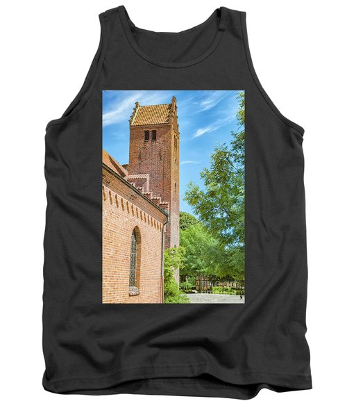 Tank Top featuring the photograph Ystad Monastery In Sweden by Antony McAulay