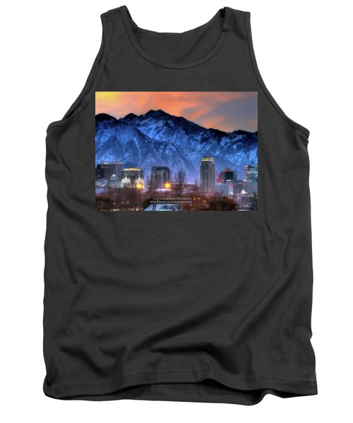 Salt Lake City Skyline Tank Top