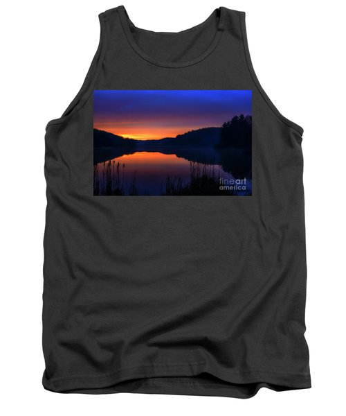 Tank Top featuring the photograph Winter Dawn by Thomas R Fletcher