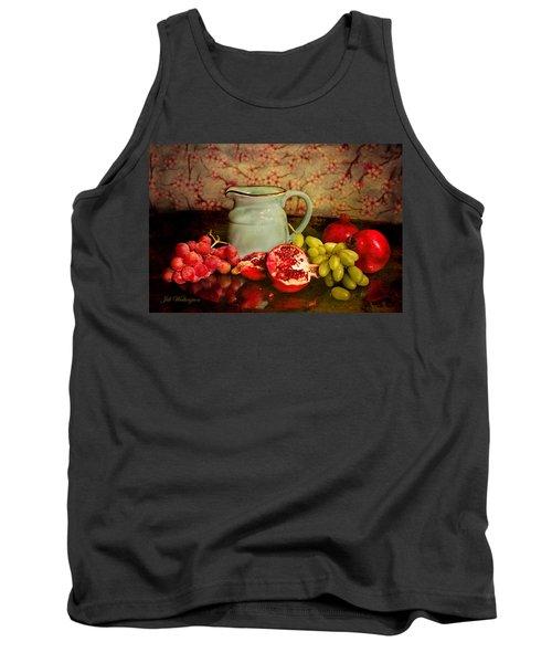 Tank Top featuring the digital art Fall Harvest by Jill Wellington