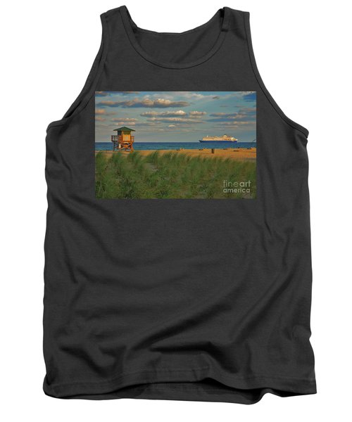 Tank Top featuring the photograph 13- Cruising In Paradise by Joseph Keane
