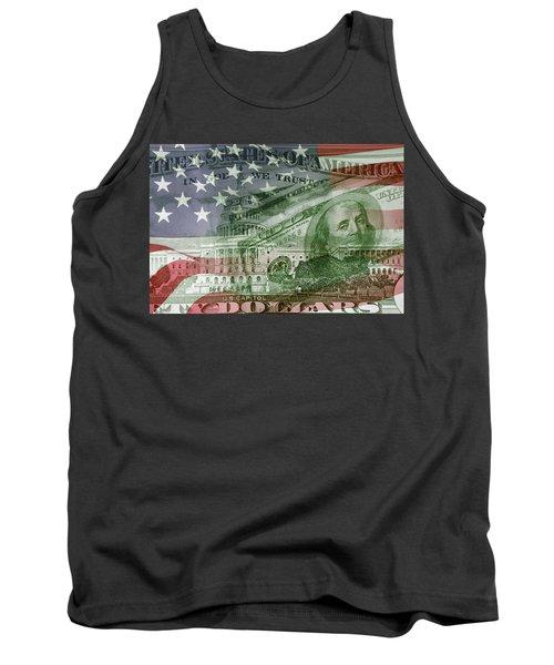 Usa Finance Tank Top