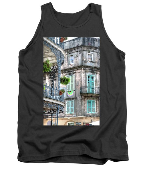 1358 French Quarter Balconies Tank Top