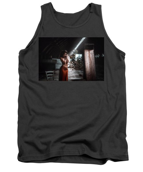 Tank Top featuring the photograph Giulia by Traven Milovich