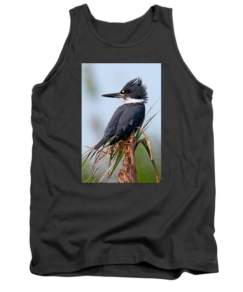 Belted Kingfisher Tank Top