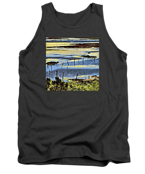 Primordial Soup Tank Top by Bob Wall